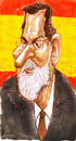 Cartoon: Rajoy (small) by horate tagged spanish