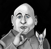 Cartoon: Dr Evil (small) by tooned tagged cartoons,caricature,illustrati