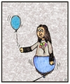 Cartoon: Hopeless (small) by gultekinsavk tagged aside,be,including,social,exclusion,impossibleness