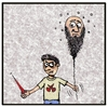 Cartoon: Revolution (small) by gultekinsavk tagged revalotion,rebel,young,old,conflict,of,generations
