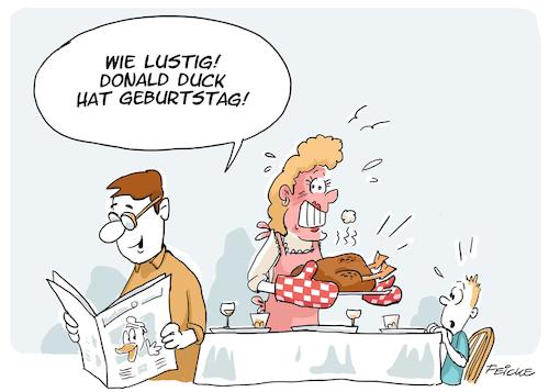 Donald Duck Geburtstag Von Feicke Medien Kultur Cartoon Toonpool