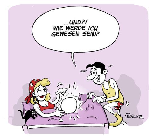 Wahrsagersex Von Feicke Philosophie Cartoon Toonpool