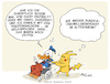 Cartoon: Donald Altersheim (small) by FEICKE tagged donald,duck,pikachu,pokemon,walt,disney,comic,manga,generation,senioren,demografie,alter,jugend
