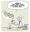 Cartoon: Gold bei Olympia (small) by FEICKE tagged olympia,gold,medaille,doping