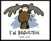 Cartoon: In Memoriam  FW Bernstein (small) by FEICKE tagged hommage,bernstein,frankfurter,schue,satire,karikatur,zeichner