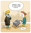 Cartoon: Kinder sind Luxus (small) by FEICKE tagged luxus,kind,familie,eltern,status,reich,arm,risiko