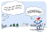 Cartoon: Olympia in... (small) by FEICKE tagged olympia,korea,pyeongchang,seoul,modern,talking,dieter,bohlen