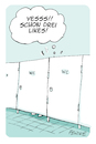 Cartoon: Posting (small) by FEICKE tagged wc,toilet,facebook,posten
