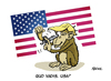 Cartoon: Quo vadis USA? (small) by FEICKE tagged trump,nominated,president,usa,united,states