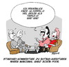 Cartoon: Rating (small) by FEICKE tagged rating,agenture,bilanz,ranking,note,double,triple,dd,aaa,europa,euro,krise,prolet