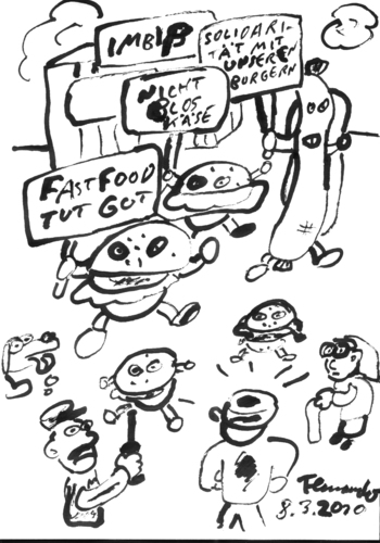 Cartoon: Burgerinitiative (medium) by Fernando tagged burger,politik,bürger