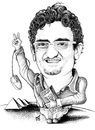 Cartoon: Wael Ghonim of Egypt (small) by samir alramahi tagged egypt,mubarak,arab,wael,ghonim,egyptian,revolution,ramahi,cartoon