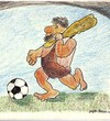 Cartoon: Footbal (small) by vizant1 tagged footbal