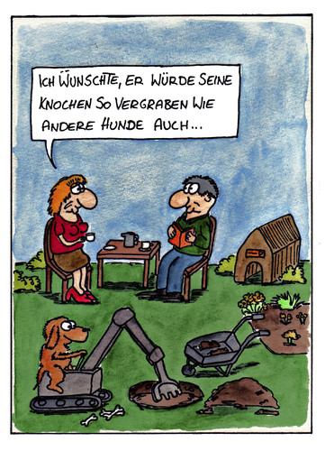 Cartoon: Knochen vergraben (medium) by spass-beiseite tagged knochen,hund,vergraben,garten,erde,dreck,schmutz,pfoten,beiseite,spass,unterhaltung,panel,fun,illustration,design,pointe,kunst,comicstrips,comictagebuch,tagebuch,comic,cartoons,cartoon,witz,bildwitz