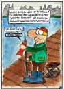 Cartoon: Fisch (small) by spass-beiseite tagged meer,wasser,strand,steg,angekn,angel,wurm,köder,fisch,sand,beiseite,spass,unterhaltung,panel,fun,illustration,design,pointe,kunst,comicstrips,comictagebuch,tagebuch,comic,cartoons,cartoon,witz,bildwitz