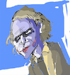 Cartoon: jocker (small) by kolle tagged jocker