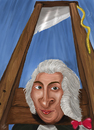 Cartoon: Joseph-Ignace Guillotin (small) by sziwery tagged guillotin