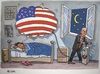 Cartoon: American dream (small) by caknuta-chajanka tagged america,politics