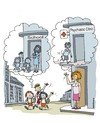 Cartoon: Home school. (small) by martirena tagged school,children,parents,psychiatrist