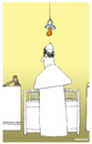 Cartoon: Paedophilia in the church (small) by martirena tagged pedophilia,catholic,church