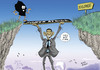 Cartoon: Obama in Tz (small) by Said Michael tagged yes,we,can