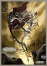 Cartoon: wraith_page07 (small) by glasseye tagged fantasy,sword,sorcery,horror,conjure,goblin,wraith,wizard,fire,ghost,bones