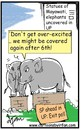 Cartoon: Political elephants! (small) by irfan tagged eclection,commision,of,inda
