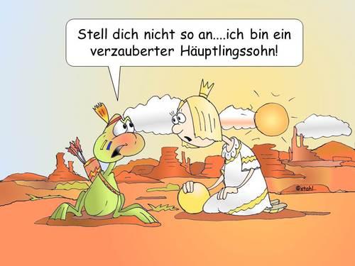 Häuptlingssohn von wista | Berühmte Personen Cartoon ...