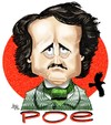 Cartoon: Edgar Allan Poe (small) by Mario Lacroix tagged poe,writer
