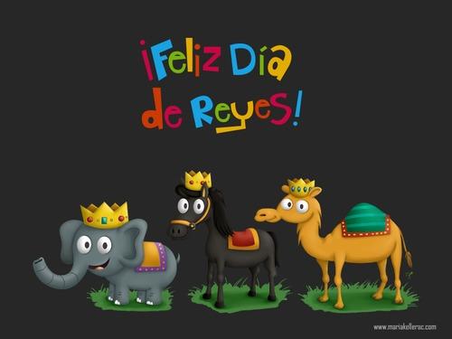 Feliz Dia De Reyes Fotos.Feliz Dia De Reyes Von Kellerac Religion Cartoon Toonpool