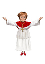 Cartoon: Pope Angelina Merkel (small) by Ausgezeichnet tagged pope,female,angela,merkel,catholic,german,chancellor