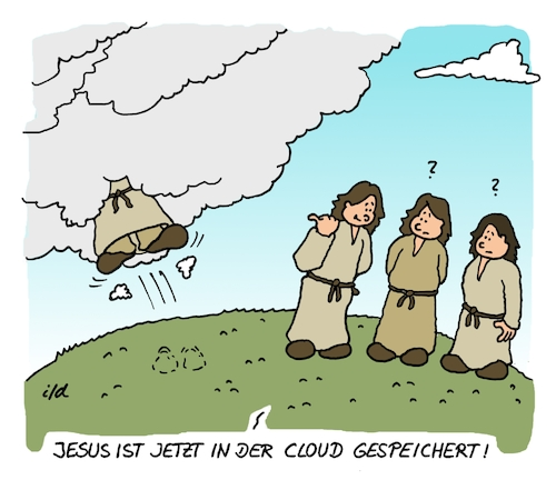 Jesus in der Cloud