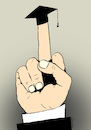 Cartoon: gesture of justice (small) by Dubovsky Alexander tagged justice,power,court,of