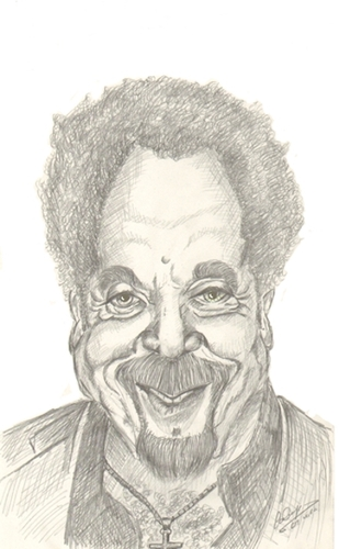 Cartoon: Tom Jones (medium) by cabap tagged caricature