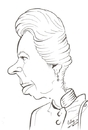 Cartoon: Princess Anne (small) by cabap tagged caricature
