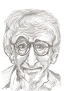 Cartoon: Woody Allen (small) by cabap tagged caricature