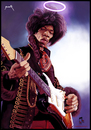 Cartoon: Jimi Hendrix (small) by szomorab tagged jimi,hendrix,live,guitar,music,caricature,blues,rock