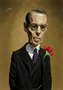 Cartoon: Nucky (small) by szomorab tagged steve,buscemi,nucky,thompson,caricature,boardwalk,empire