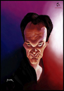 Cartoon: Quentin (small) by szomorab tagged quentin,tarantino,caricature
