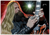 Cartoon: Zakk Wylde (small) by szomorab tagged zakk wylde black label society metal rock live guitar music