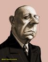 Cartoon: Erich Von Stroheim (small) by tobo tagged caricature