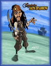 Cartoon: Captain Jack Sparrow (small) by Hellder Gonzales tagged captain jack sparrow pirates caribean cartoon style