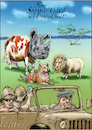 Cartoon: Corona Safari (small) by Rainer Ehrt tagged corona,reisen,lockdown,urlaub,homeoffice,tourismus,covid19,flugreise