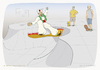 Cartoon: Flying carpet X Skateboard (small) by Wilmarx tagged flying,carpet,skateboard