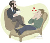 Cartoon: Freudian passion (small) by Wilmarx tagged freud psychology