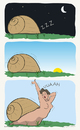 Cartoon: Slug (small) by Wilmarx tagged animals