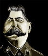 Cartoon: STALIN (small) by saeed faraji   tagged great,dictator
