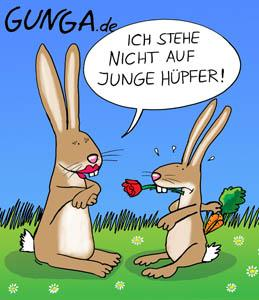 Cartoon: Hüpfer (medium) by Gunga tagged hüpfer