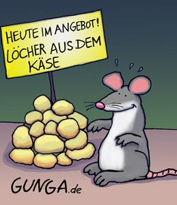 Cartoon: Käse (medium) by Gunga tagged käse