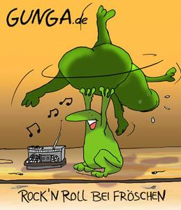 Cartoon: Rock n Roll (medium) by Gunga tagged rock,roll